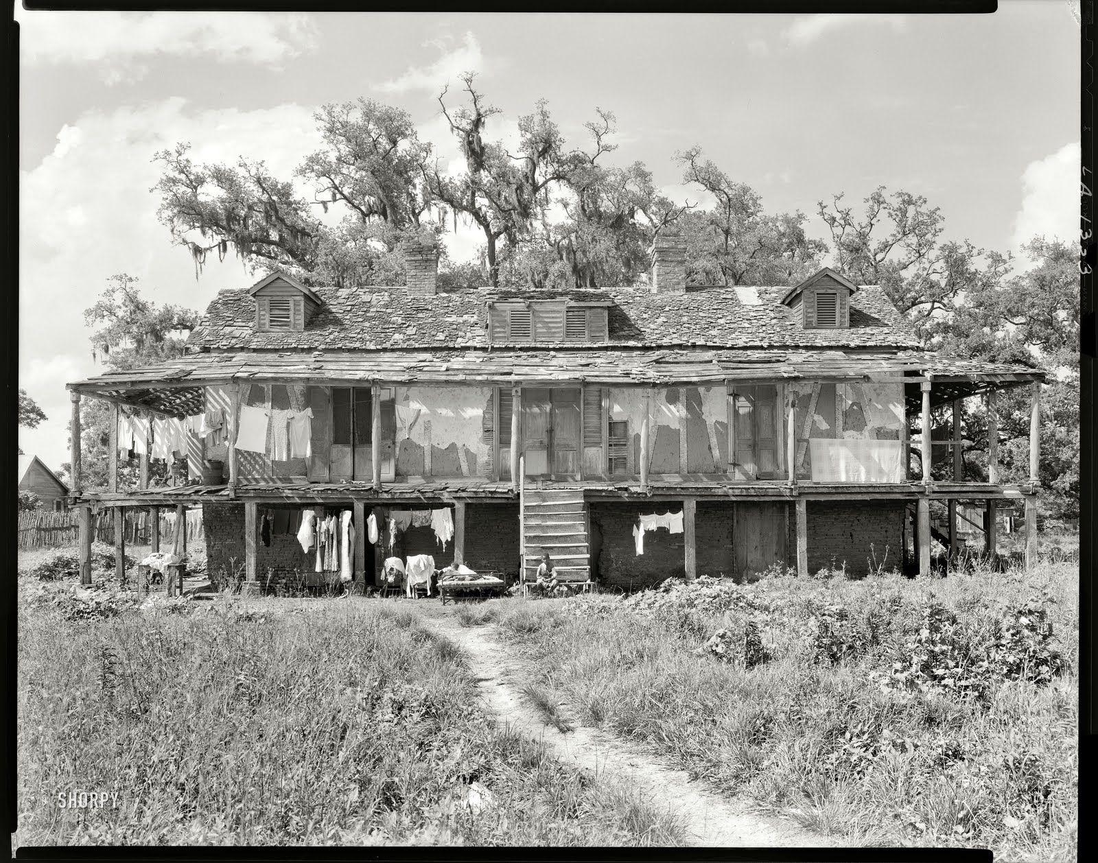 abandoned plantations louisiana Trepagnier House St