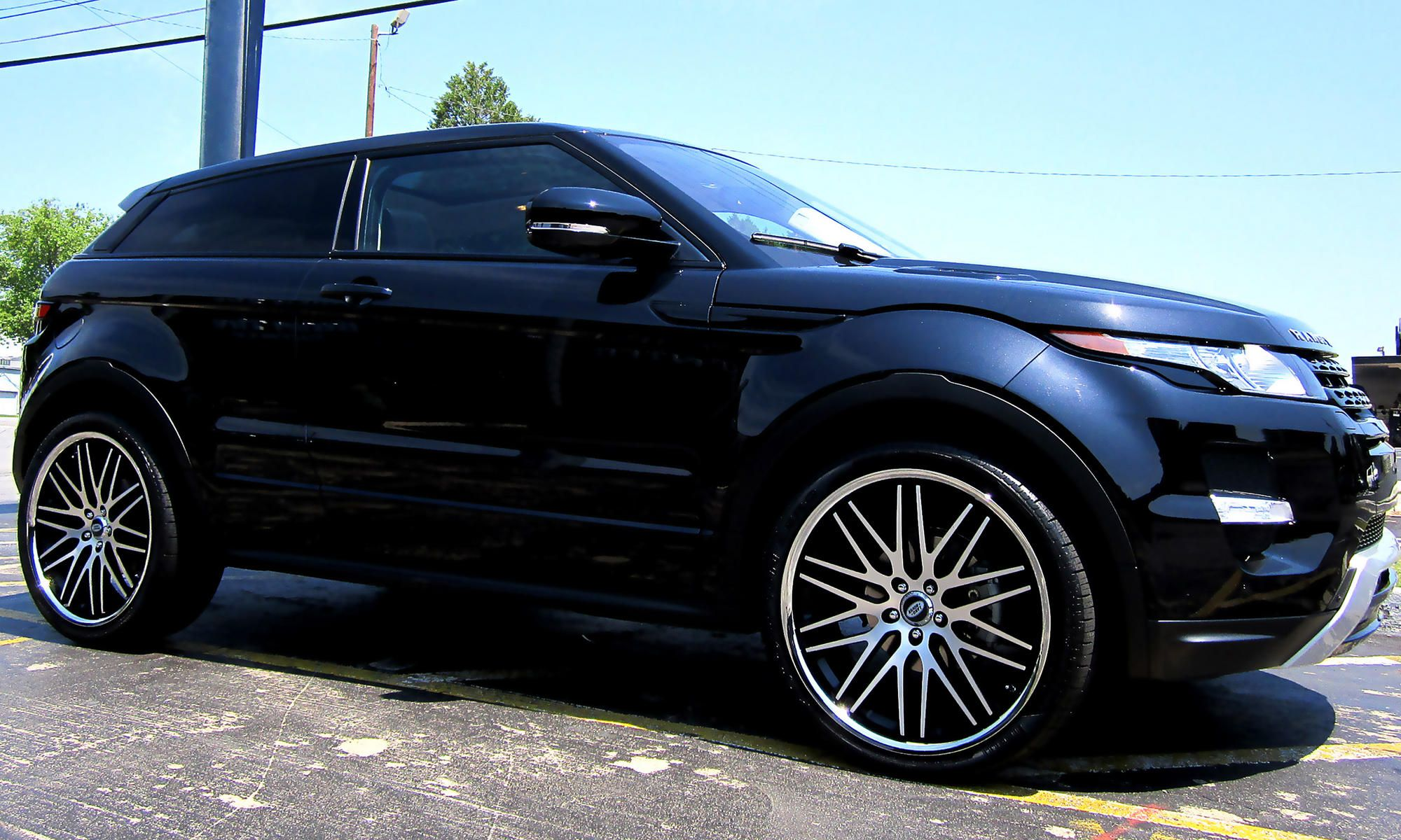 Lexani Wheels the leader in custom luxury wheels Black Land