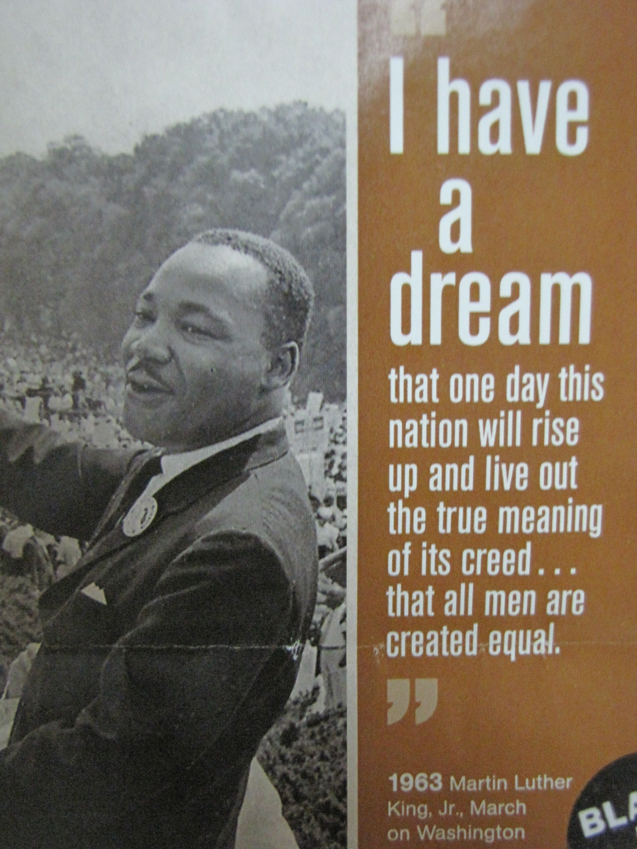 Martin Luther King Jr I Have A Dream 50th Anniversary Not Sure More Powerful Words Have