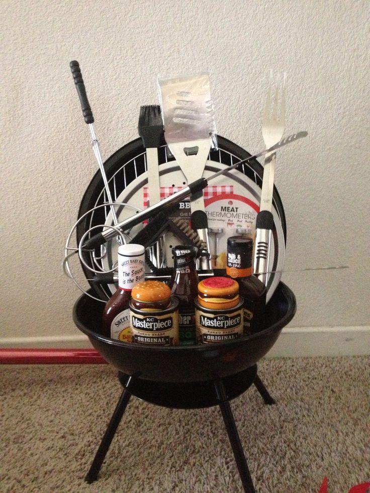 BBQ Theme Raffle Basket I Made Wwwgourmetgrillmastercom