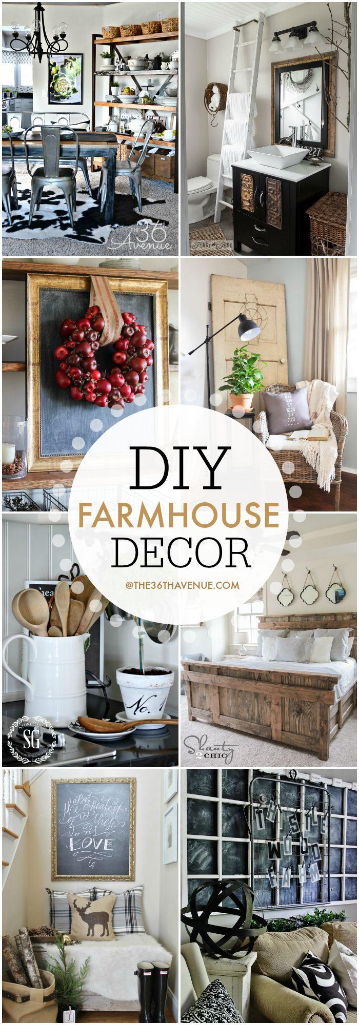 Farmhouse Home Decor Ideas Decorating, House and