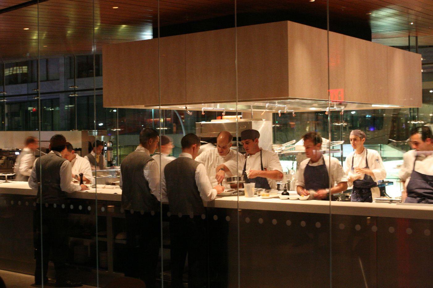 restaurant open kitchen Google Search Kitchen + Dining