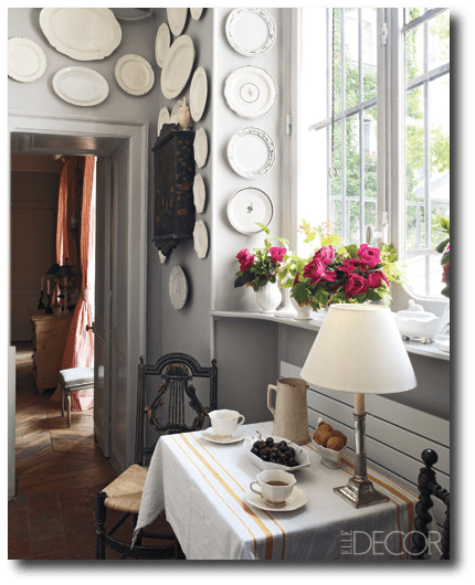 Andrew Gn s Apartment  Decorating With China  Decorating With Plates     Andrew Gn s Apartment  Decorating With China  Decorating With Plates  Plate  Displays  Sconces