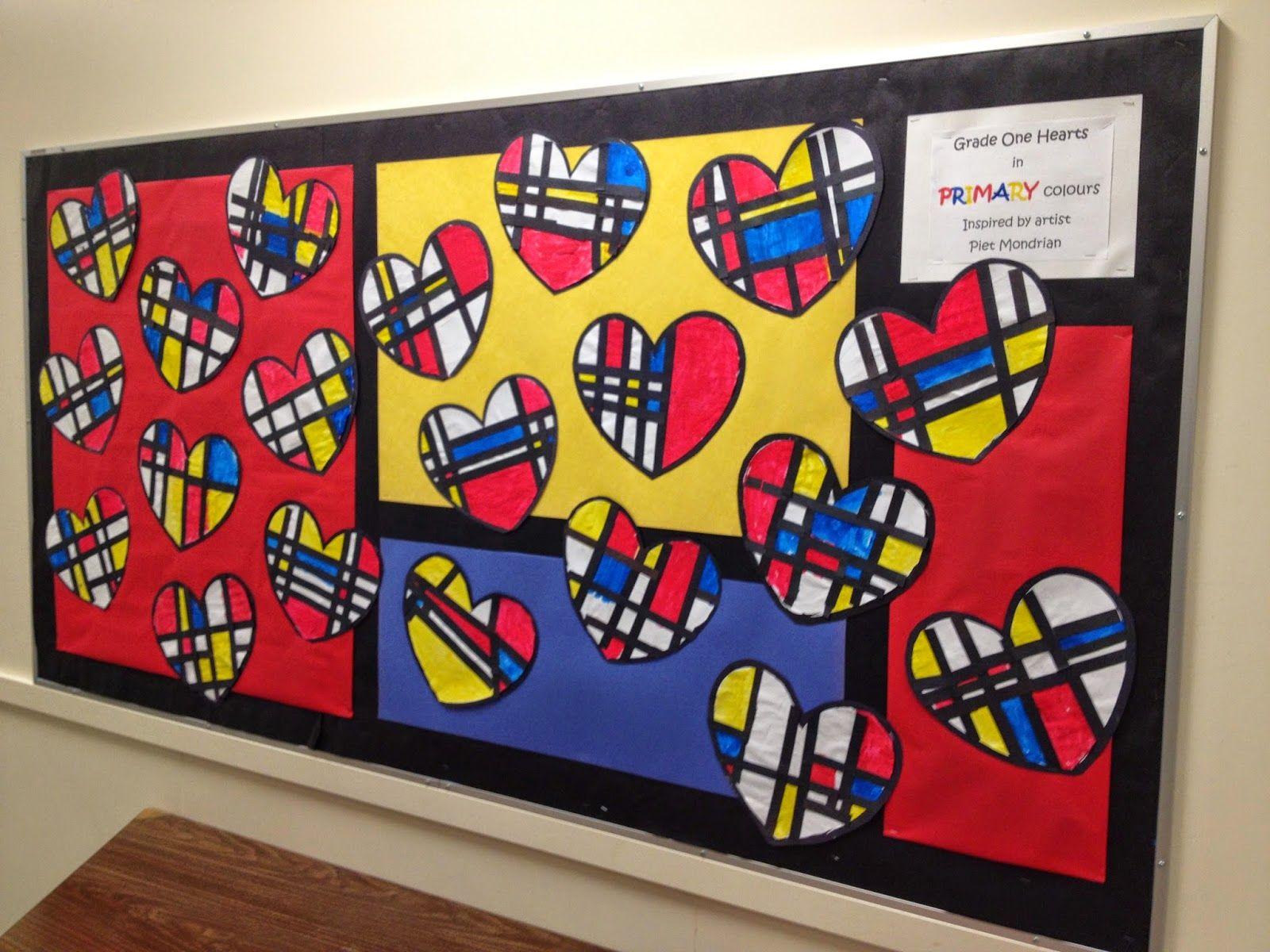 Mondrian Hearts Artventurous