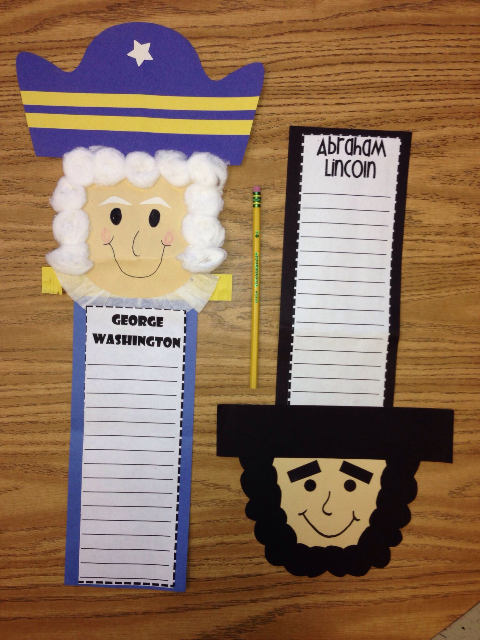 Abe Lincoln Crafts Activities