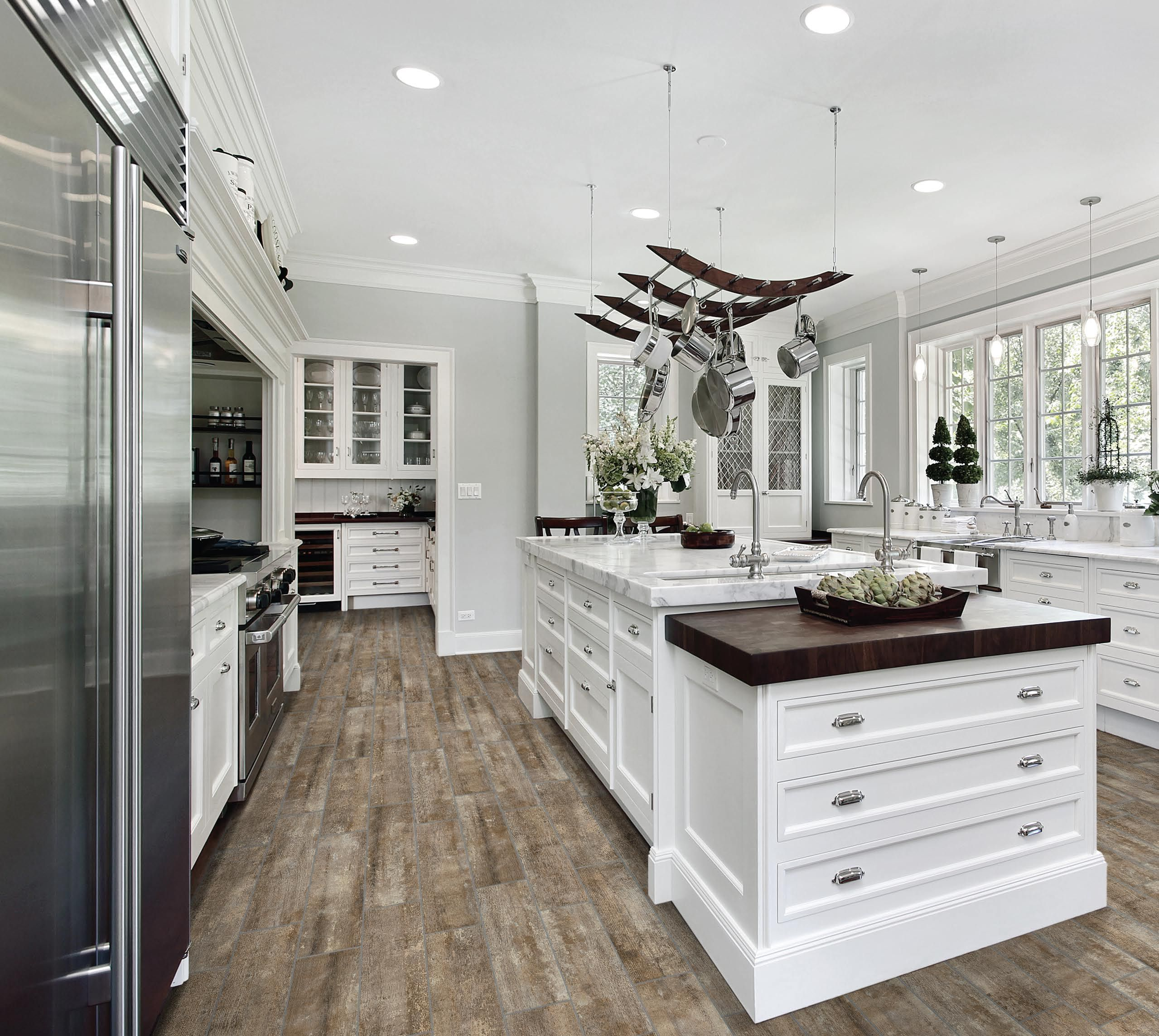 Anatolia // Modern Farmhouse Kitchen // What a beautiful