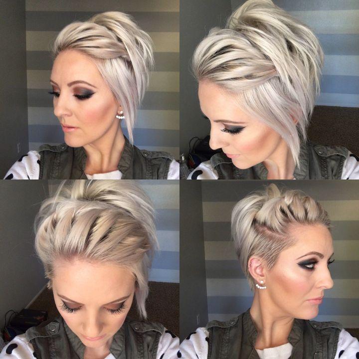 Fresh Hairstyles For Short Hair Pinterest Hairstyle Ideas