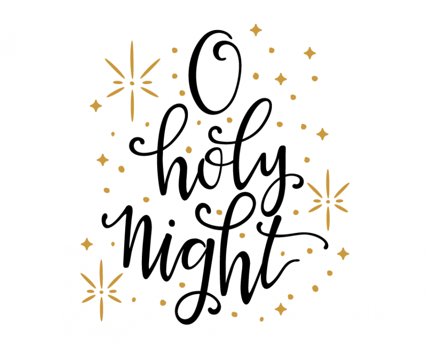 Free SVG cut file O holy Night SVG files Pinterest