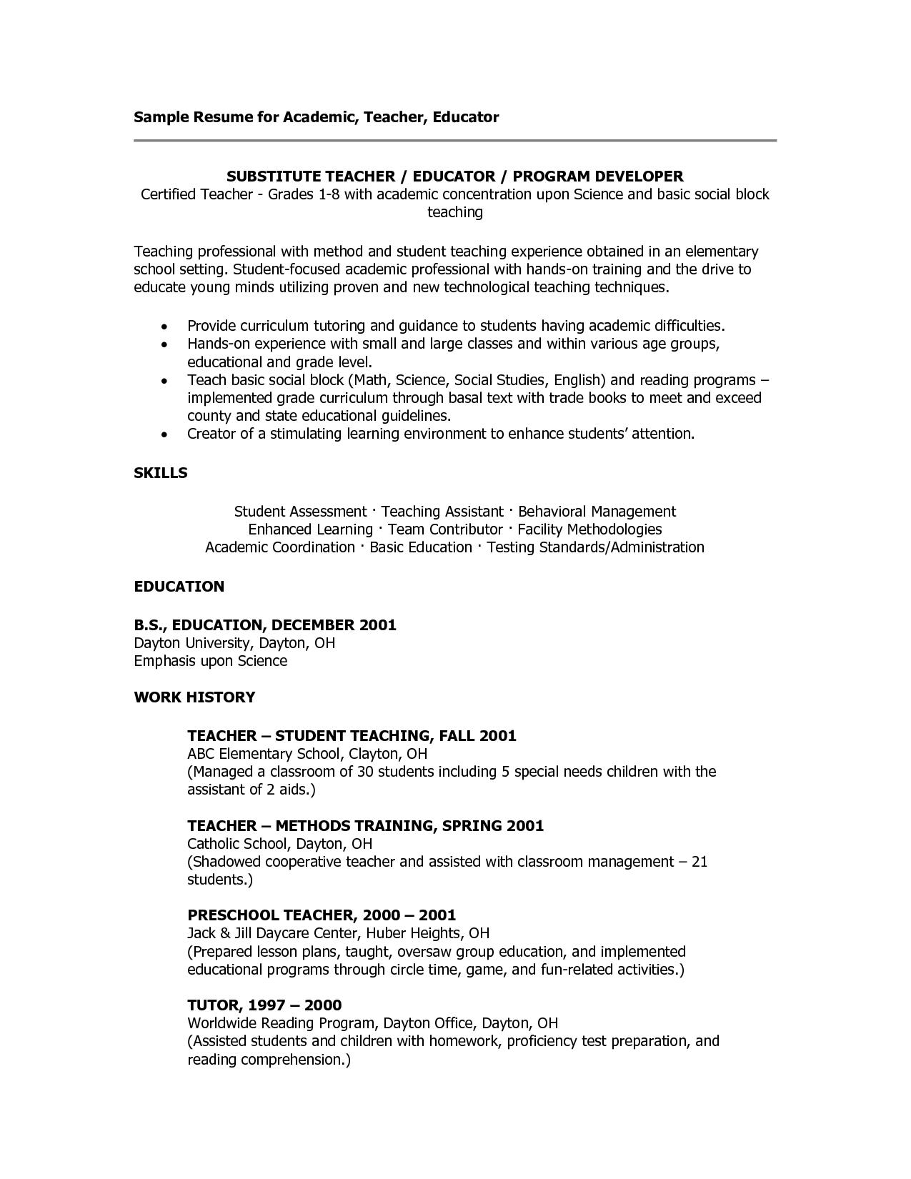 science teacher resume sample resume for art teacher x cv sample
