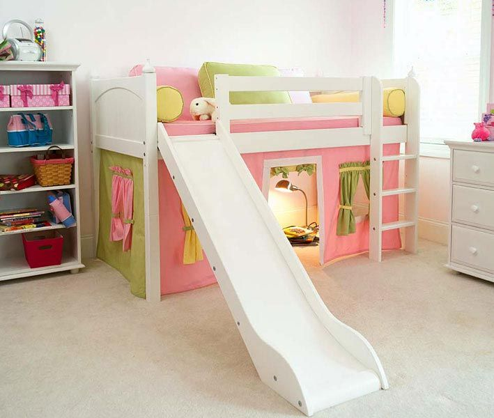 climb up, slide down. amazing kids #bed! #fun | bedrooms for kids