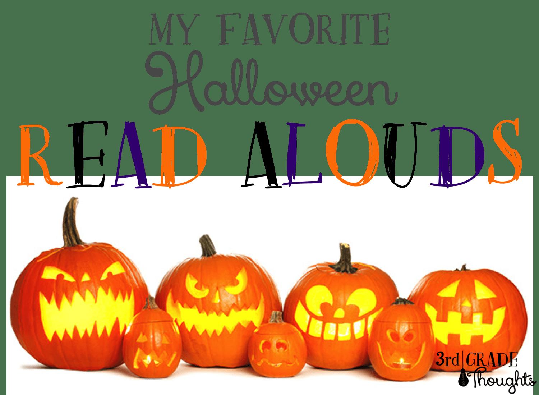 My Favorite Halloween Read Alouds