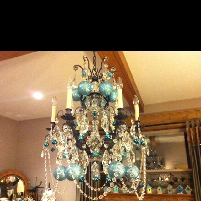 My Mum S Gorgeous Christmas Chandelier