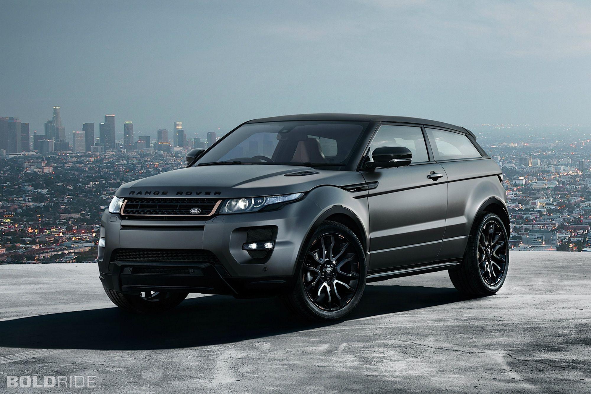 Land Rover Range Rover Evoque My Favorite SUV desig