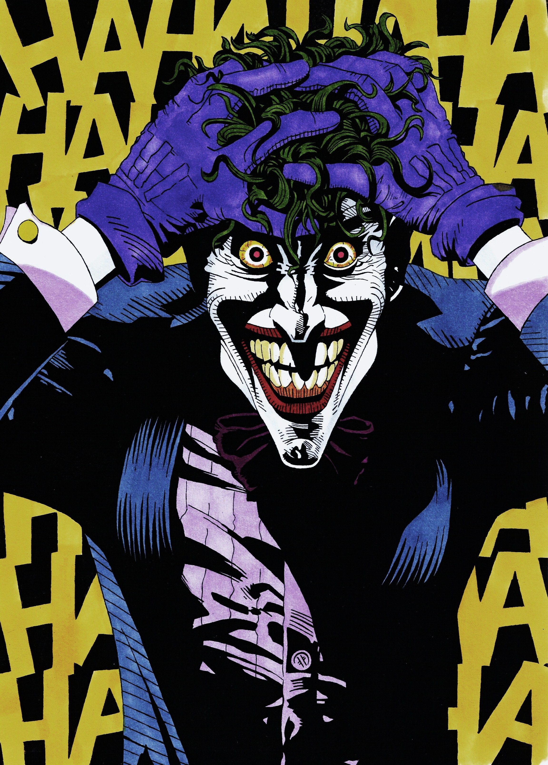The Killing Joke. The Joker Pinterest Batman, Comic