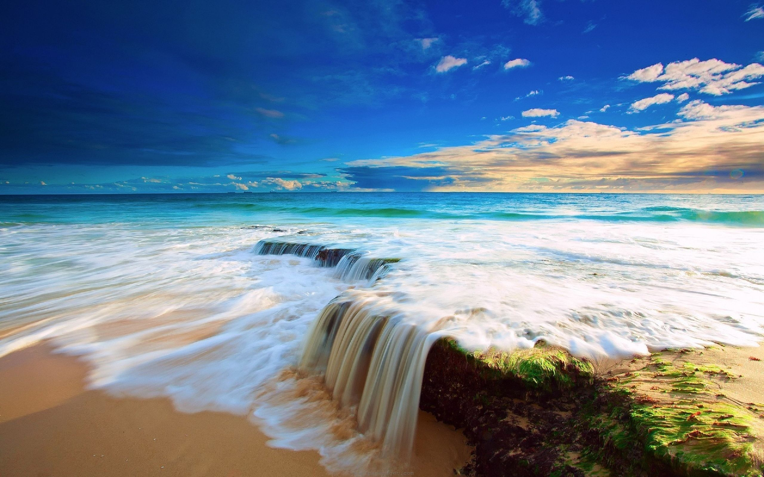 beautiful beach ocean water hd wallpaper download awesome, nice