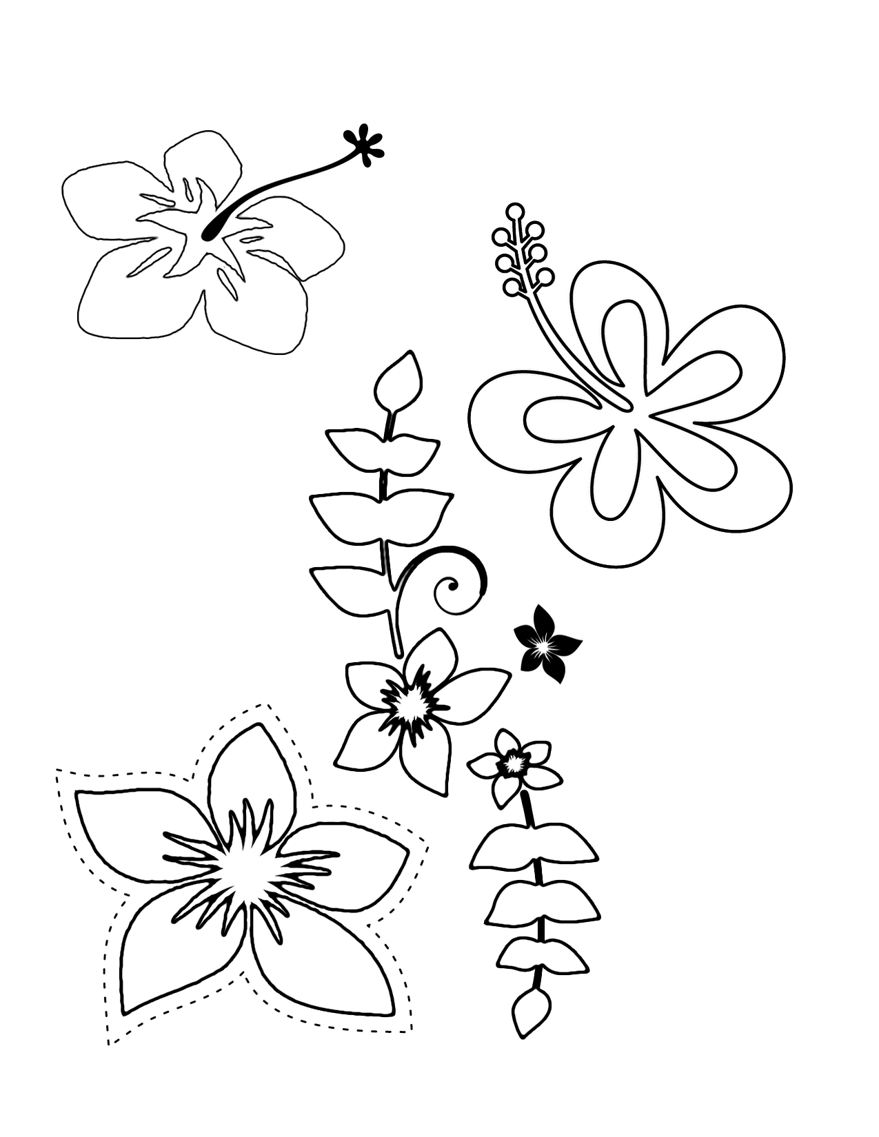 1000 images about luau party on pinterest coloring pages to