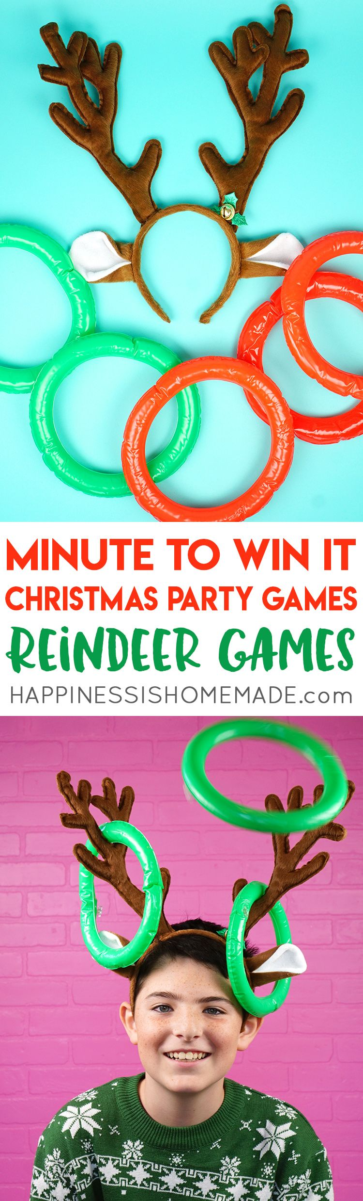 Christmas Minute to Win It Games Christmas party games