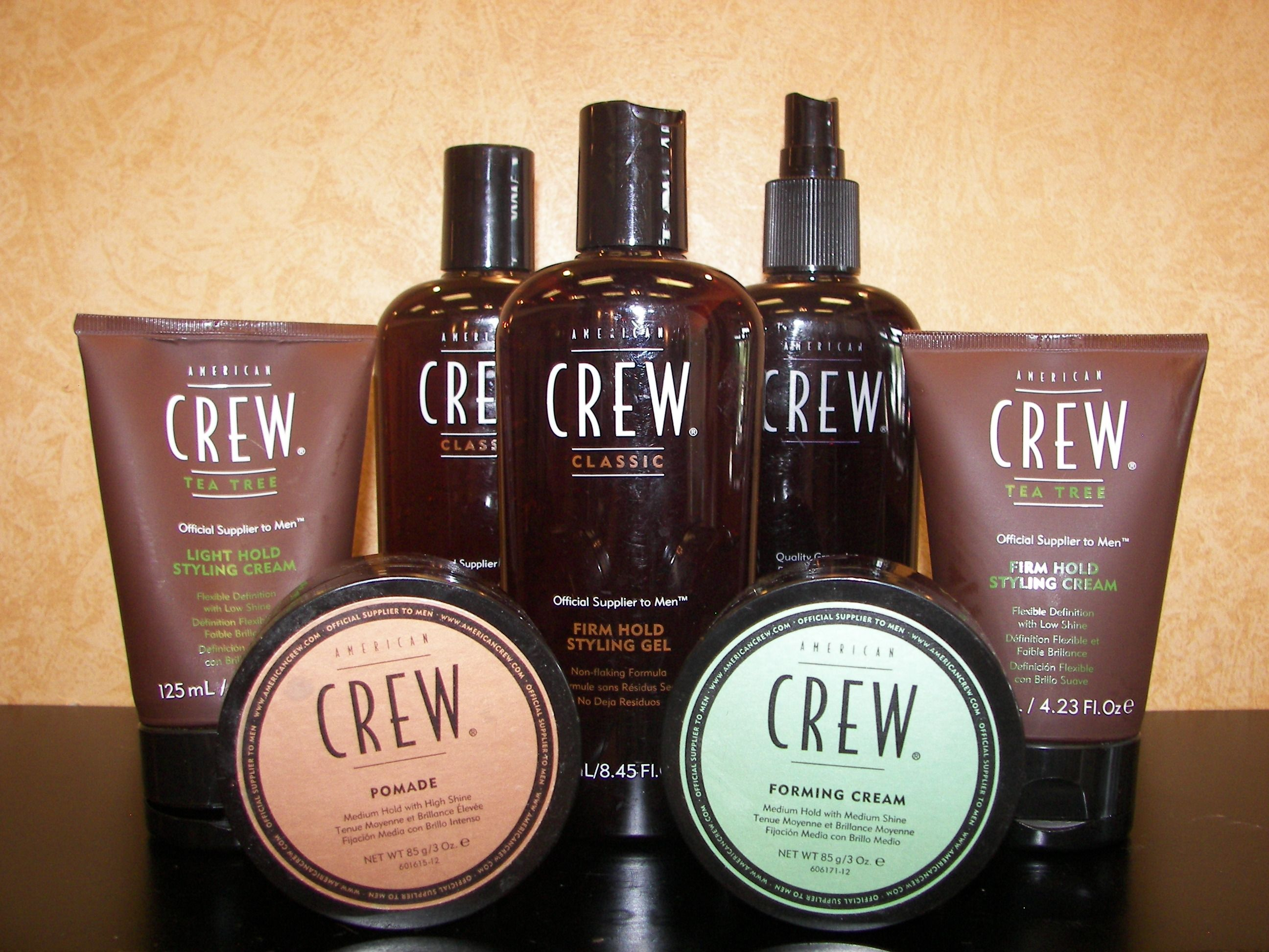 Men all over the world are using American Crew products