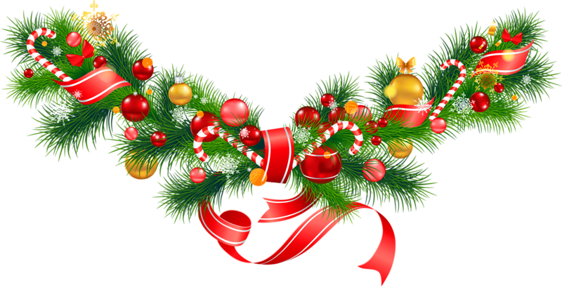 christmas garland clipart Google Search Library