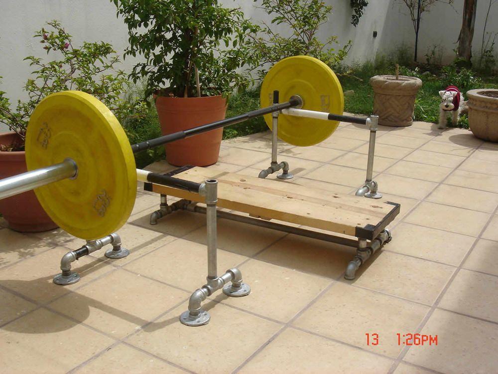 Using Rogue Yokes as Compact Hideaway Gym? Bodybuilding