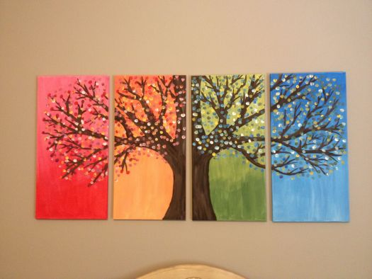 Diy Easy Canvas Painting Ideas And Guidelines To Make Paintings With Diffe Materials Step By Tutorial Of Making