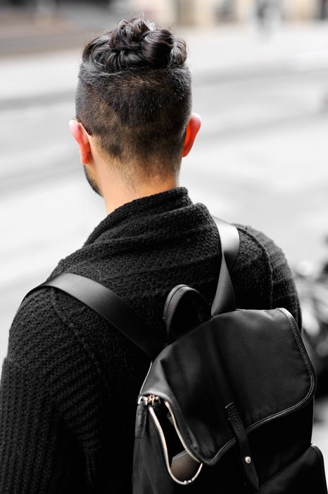 Exploring Zen Chic Mens Top Knot Style Fashion
