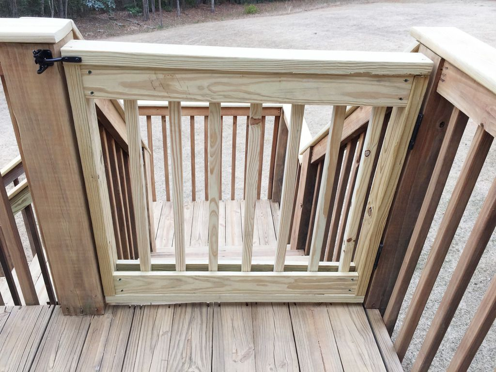 Baby Gate Building Deck gate, Decking and Yards