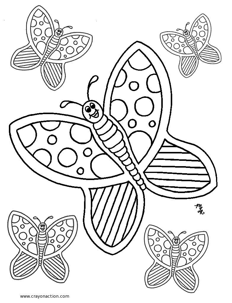 Monkey Coloring Pages Monkey Coloring Page Michelle Roppolo