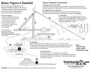 figure4 diagram primitive survival trap | KnivesBlades