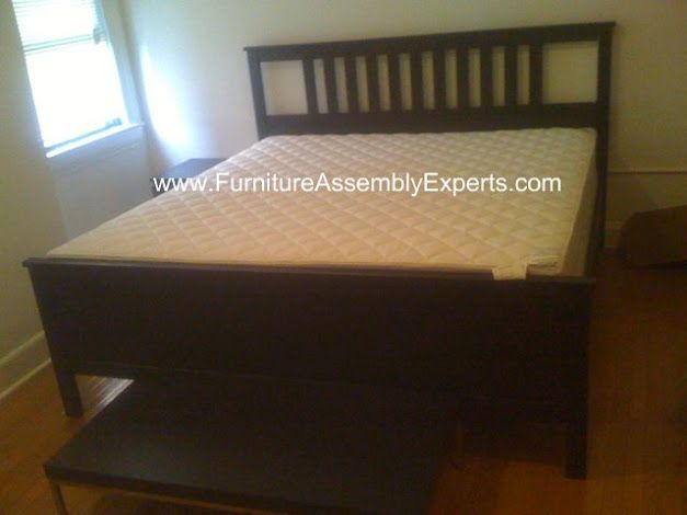 Ikea King Size Hemnes Bed Frames Assembled In Washington Dc By Furniture Assembly Experts Company