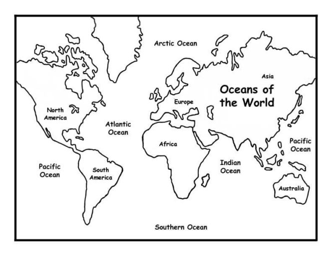 Asia map coloring page coloring page for kids free printable world map coloring pages global education gumiabroncs Image collections