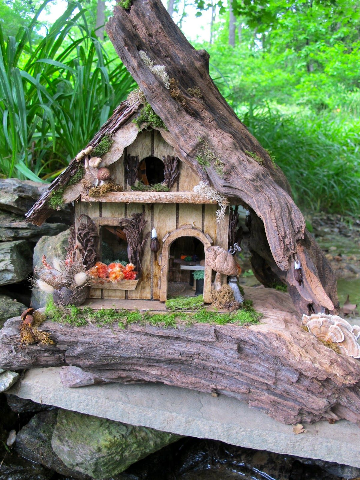 Whimsical Properties Custom Made Fairy Houses Pretty