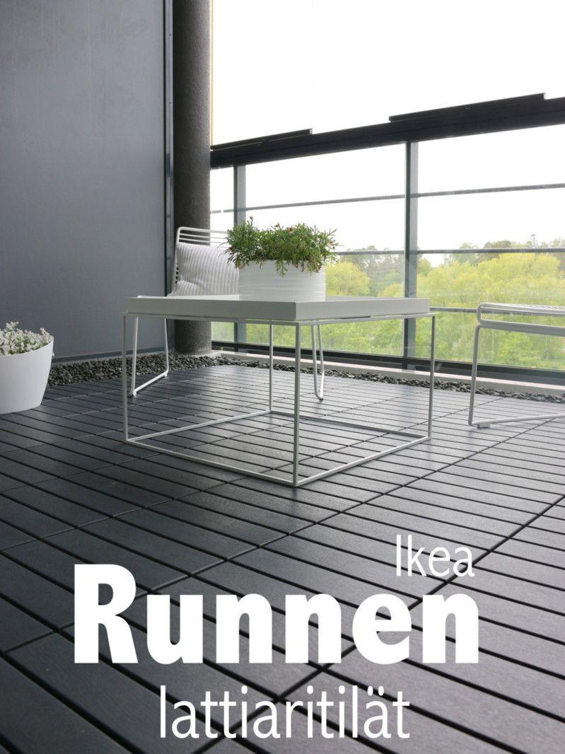 Kattava katsaus Ikea Runnen lattiaritilöihin! Kuisti