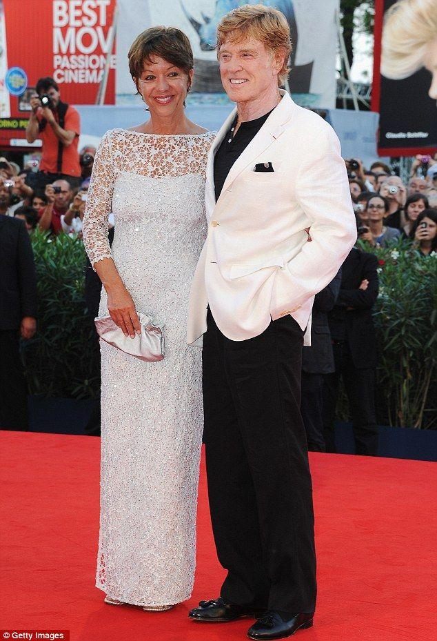 Robert Redford (and wife Shia) FashionRed carpet men