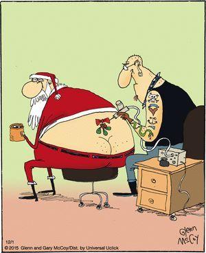 Grumpy Bad Santa Tattoo Placementrelaxed The
