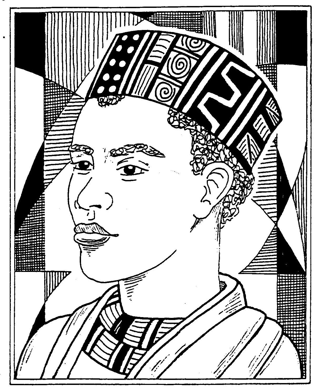 Famous African American Woman Coloring Pages