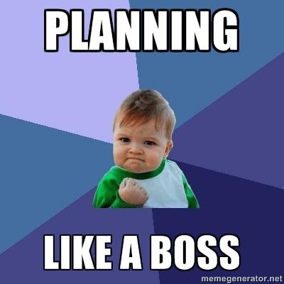 Image result for planning meme