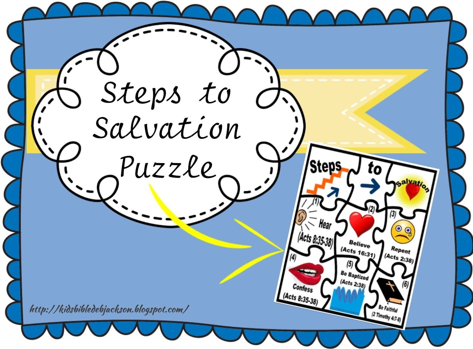 Steps To Salvation Puzzle