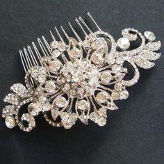 vintage bridal crystal hair comb victorian by luxedeluxe on etsy vintage bridal crystal hair comb victorian by luxedeluxe on etsy