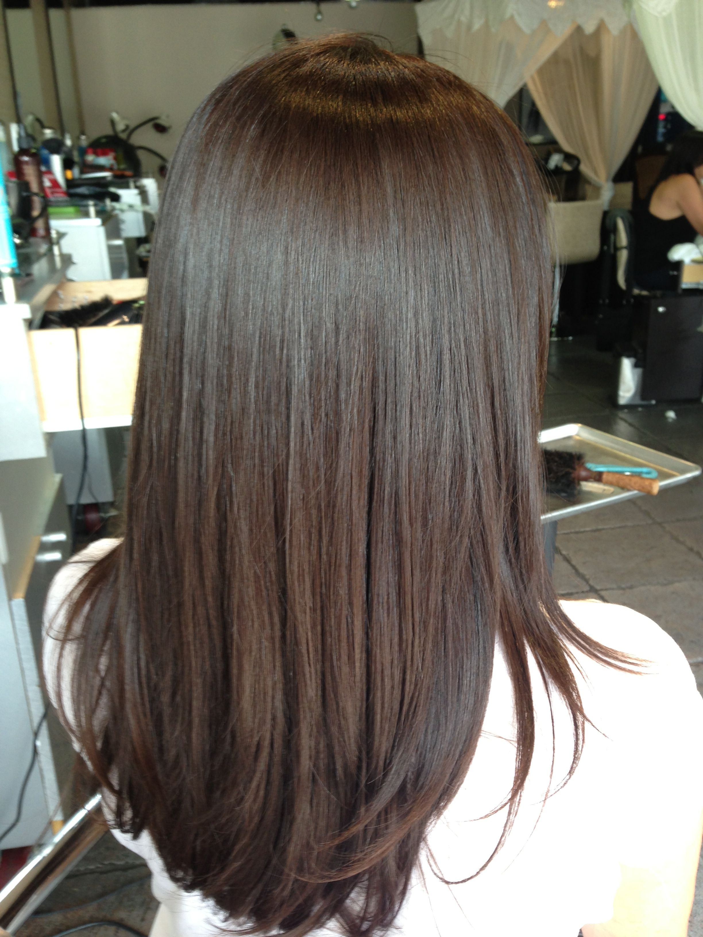 Create Your Demipermanent Color By Mixing Teinture With Instantane From Mastey Prepare Hair W