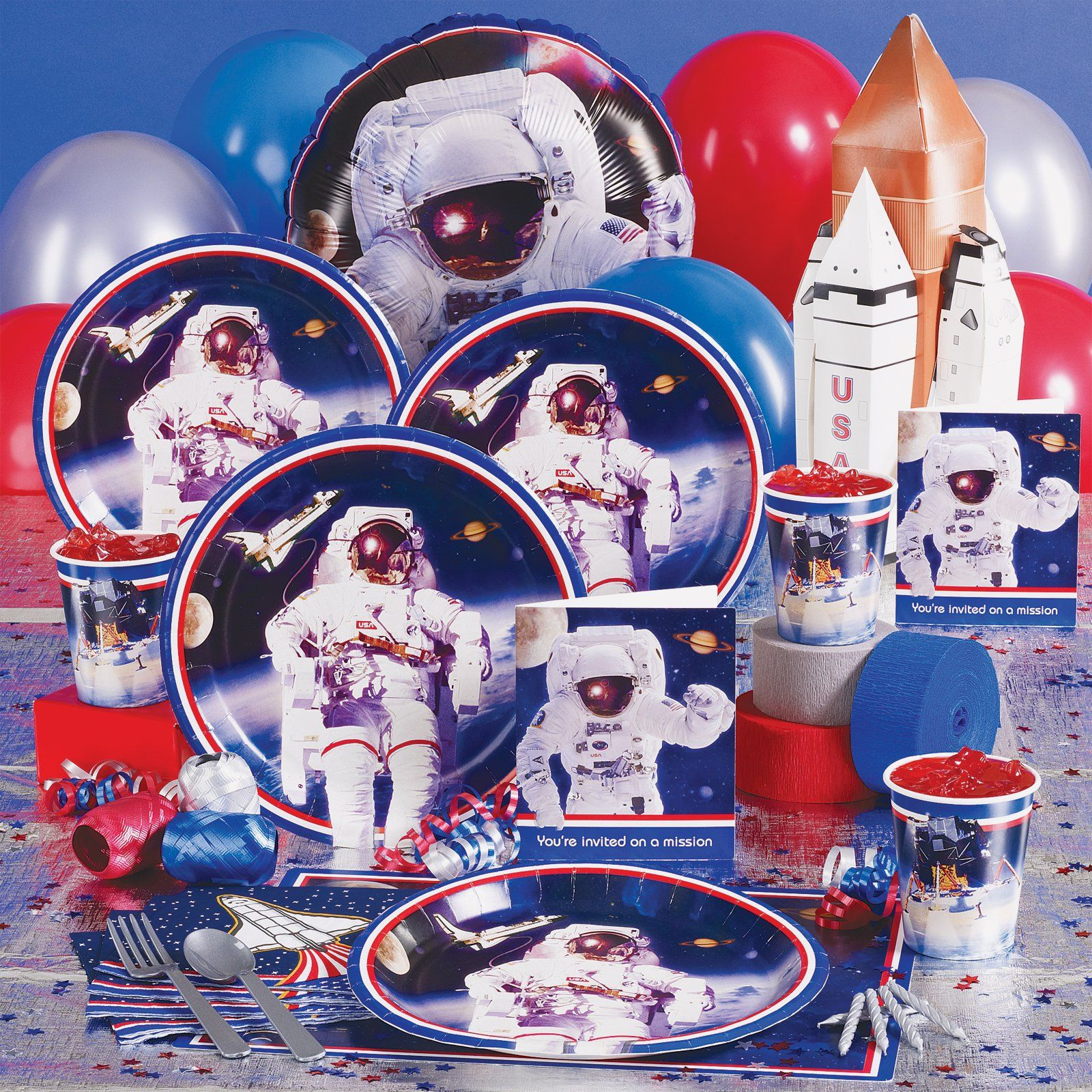 Astronaut theme should we do training idea. NASA