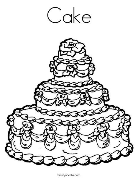 1000 images about cake coloring pages on pinterest coloring