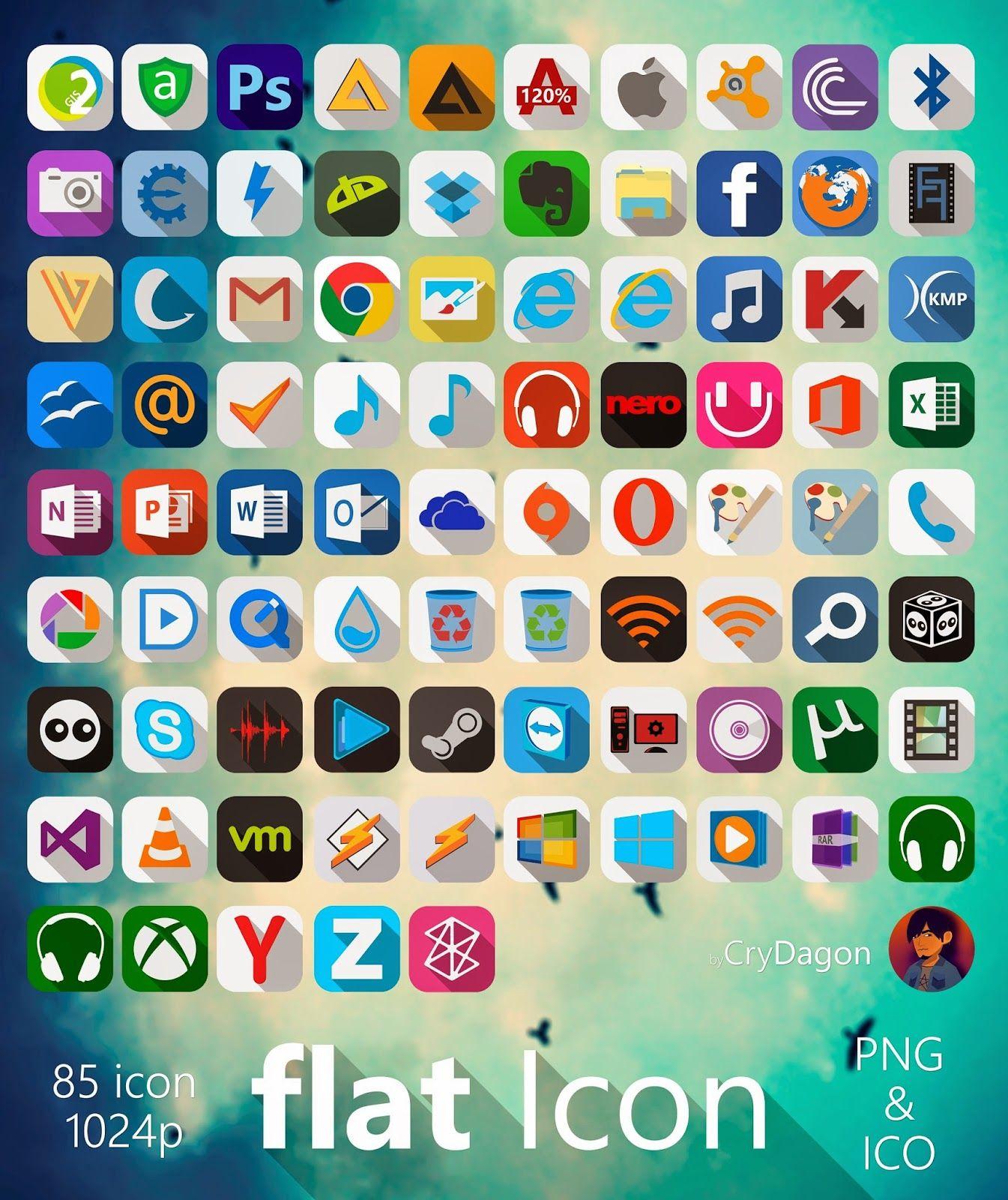 Shirae Black Icon Pack Full HD cleodesktop Download http