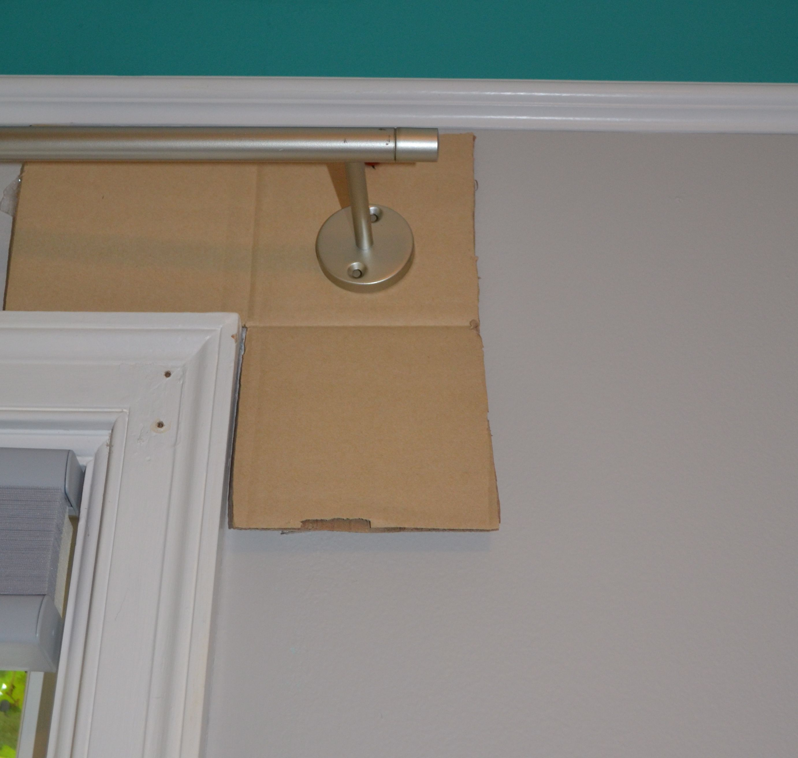 Template For Hanging Curtain Rods