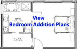 We Designed Several Bedroom Master Suite Addition Plans Complete With Estimated Building Costs