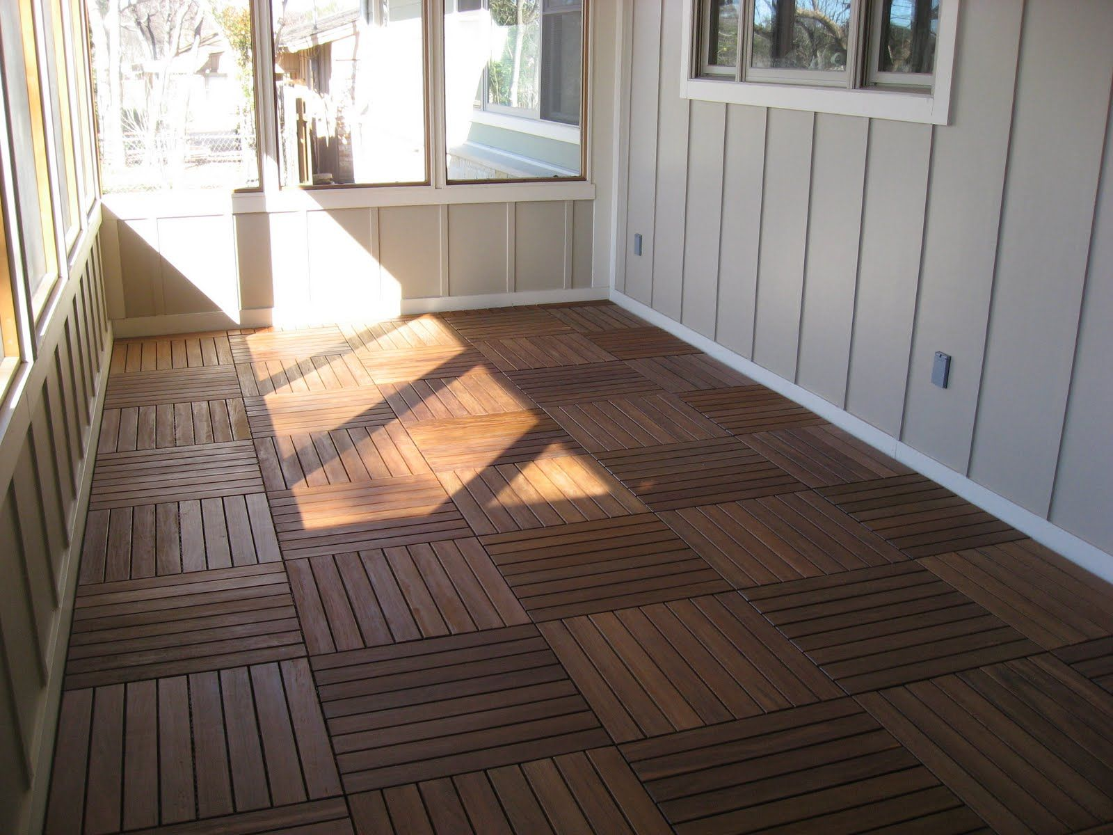 screen porch flooring ideas Just for a minute, though