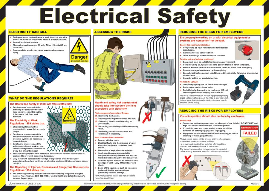 electrical safety tips Electrical Safety Pinterest