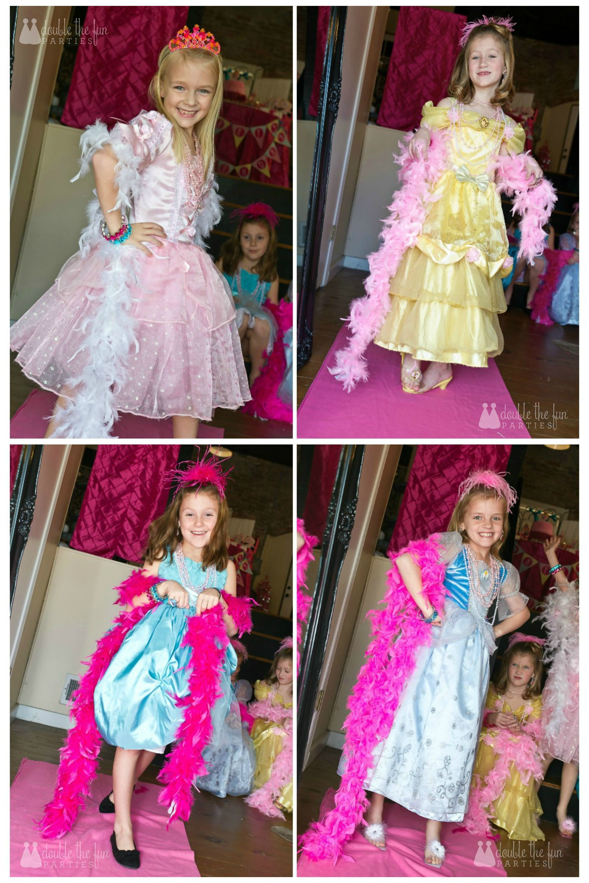 Dress Up Party for 4yearold twin girls. One wanted a