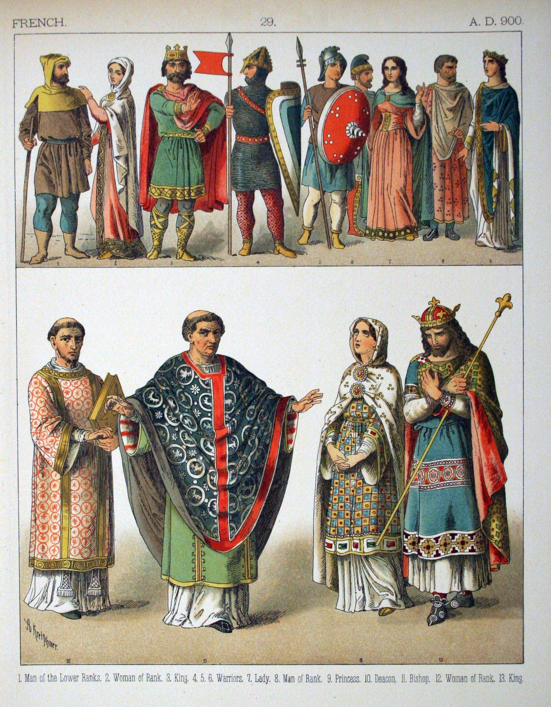 Cover Of Costumes Of All Nations A Book Printed In The