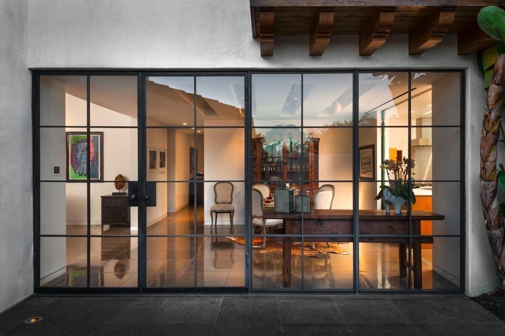 Love the steel frame glass doors door styles